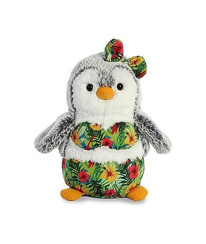 Amazon Com Aurora World Pompom Penguin Plush Toy Animal Pompom