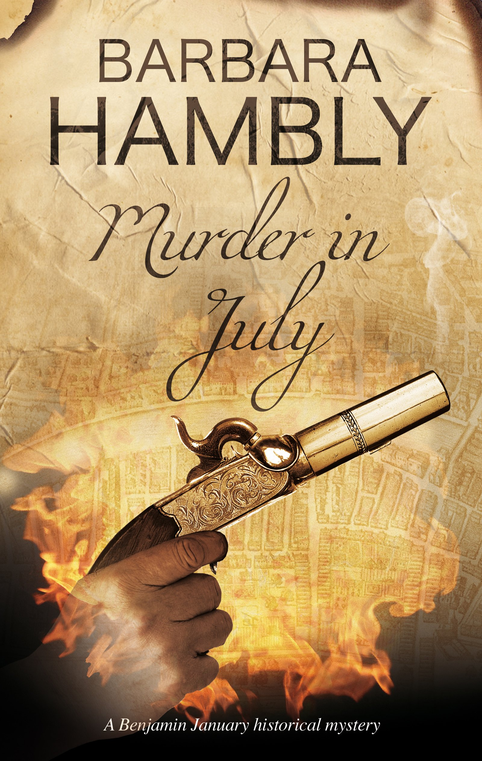 Murder In July Historical Mystery Set New Orleans A Benjamin January Barbara Hambly 9780727887405 Amazon Books