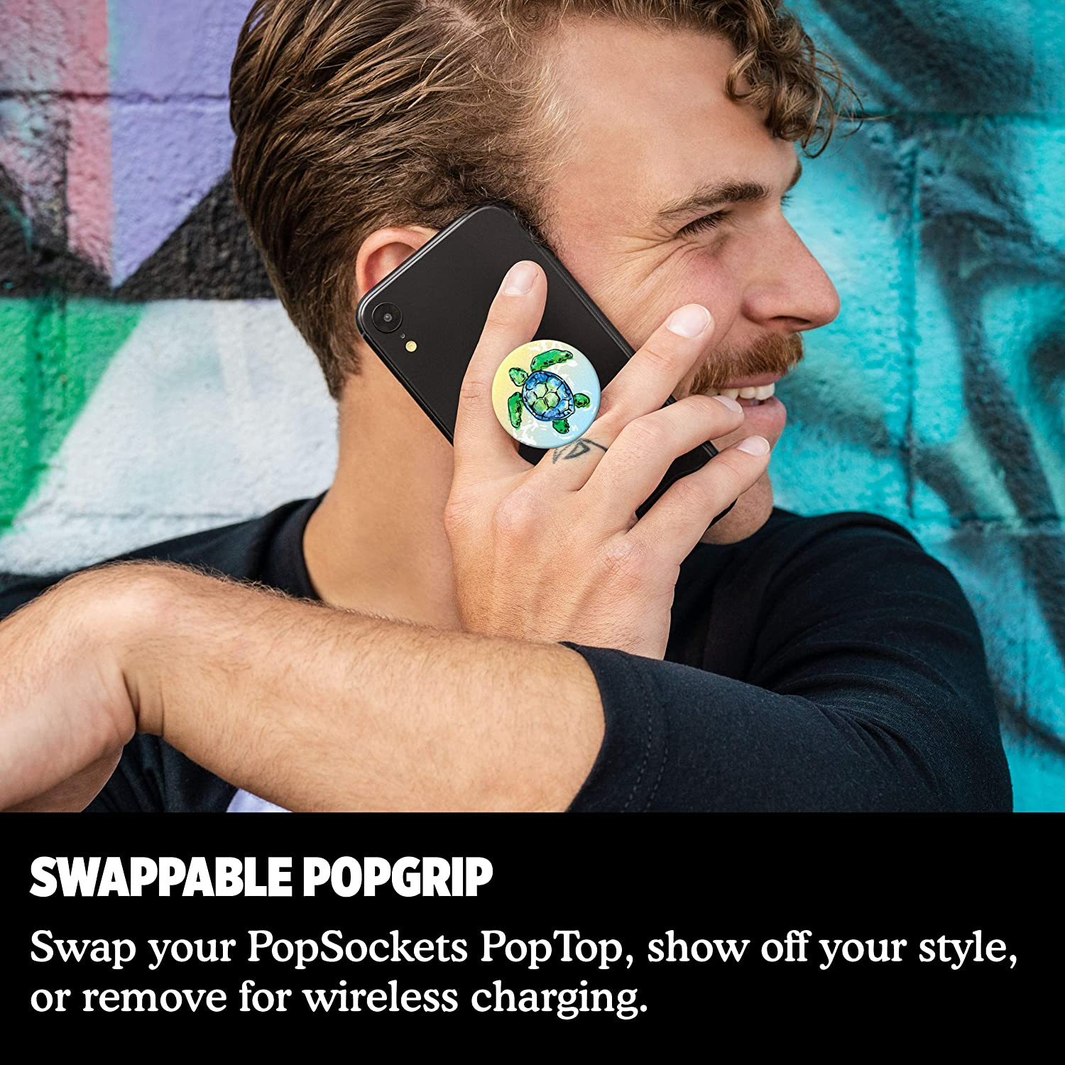 Aivary PopSockets PopGrip Swappable Grip for Phones /& Tablets
