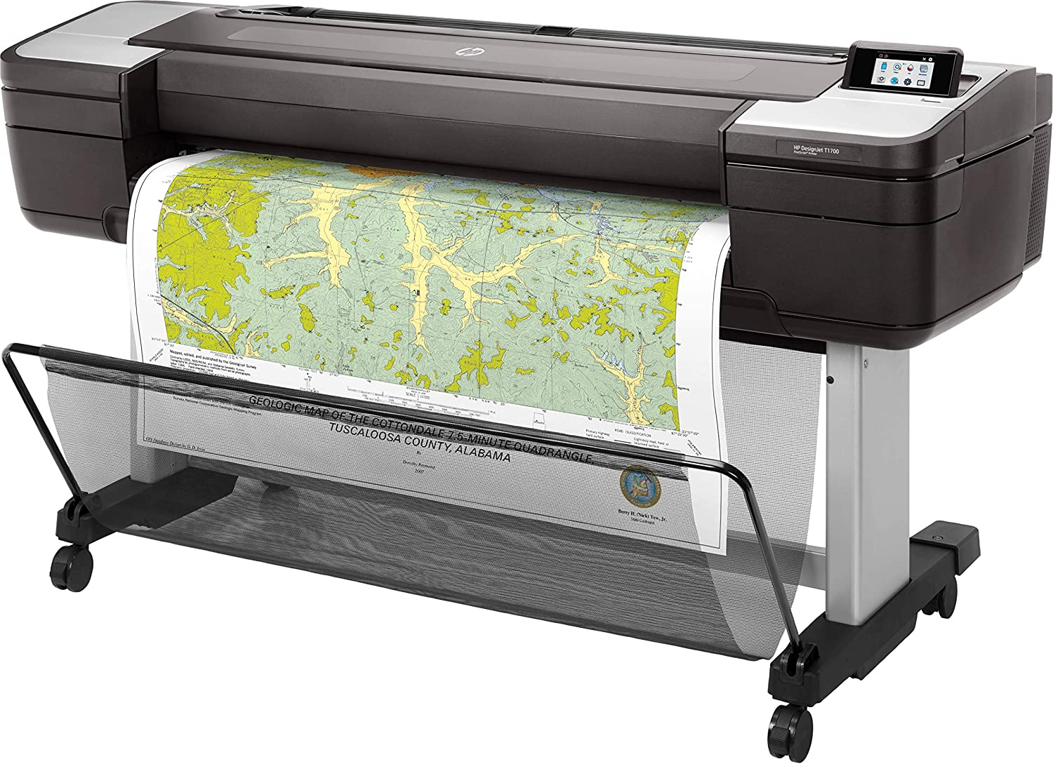 HP Designjet T1700 44-in PostScript Colour Thermal inkjet 2400 x 1200DPI 1118 x 1676 large format printer: Hp: Amazon.es: Informática