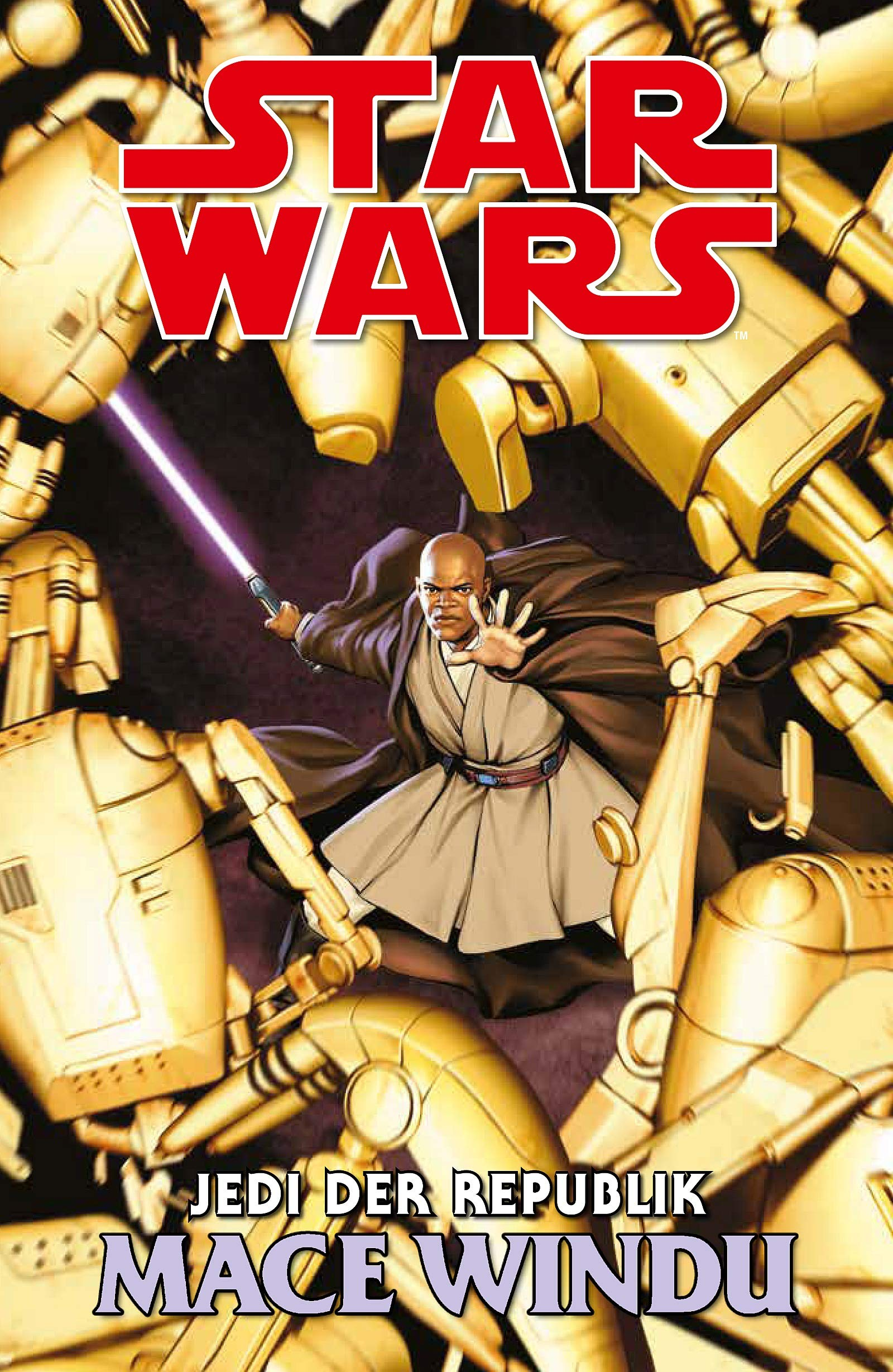 Star Wars Comics Jedi Der Republik Mace Windu Amazonde Matt