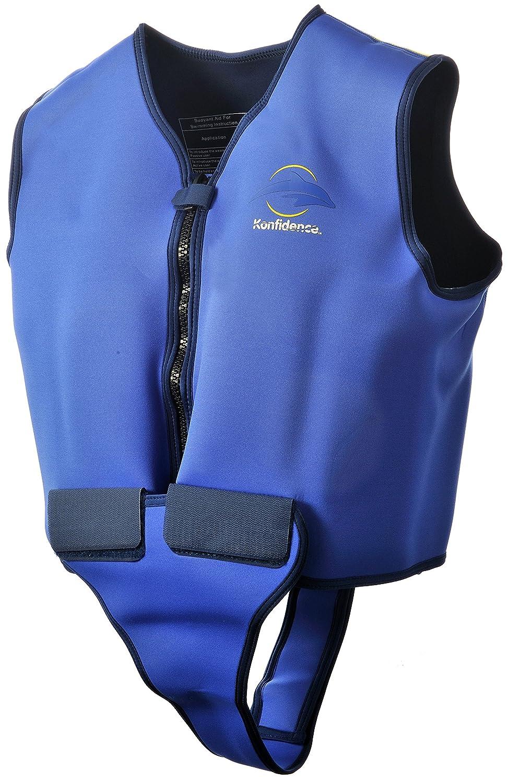 Konfidence Adult Swim Jacket 46-50 Chest Blue//Yellow