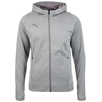 Puma Final Casuals Hooded Jacket Sudadera, Hombre, Medium Gray Heather, 3XL: Amazon.es: Deportes y aire libre