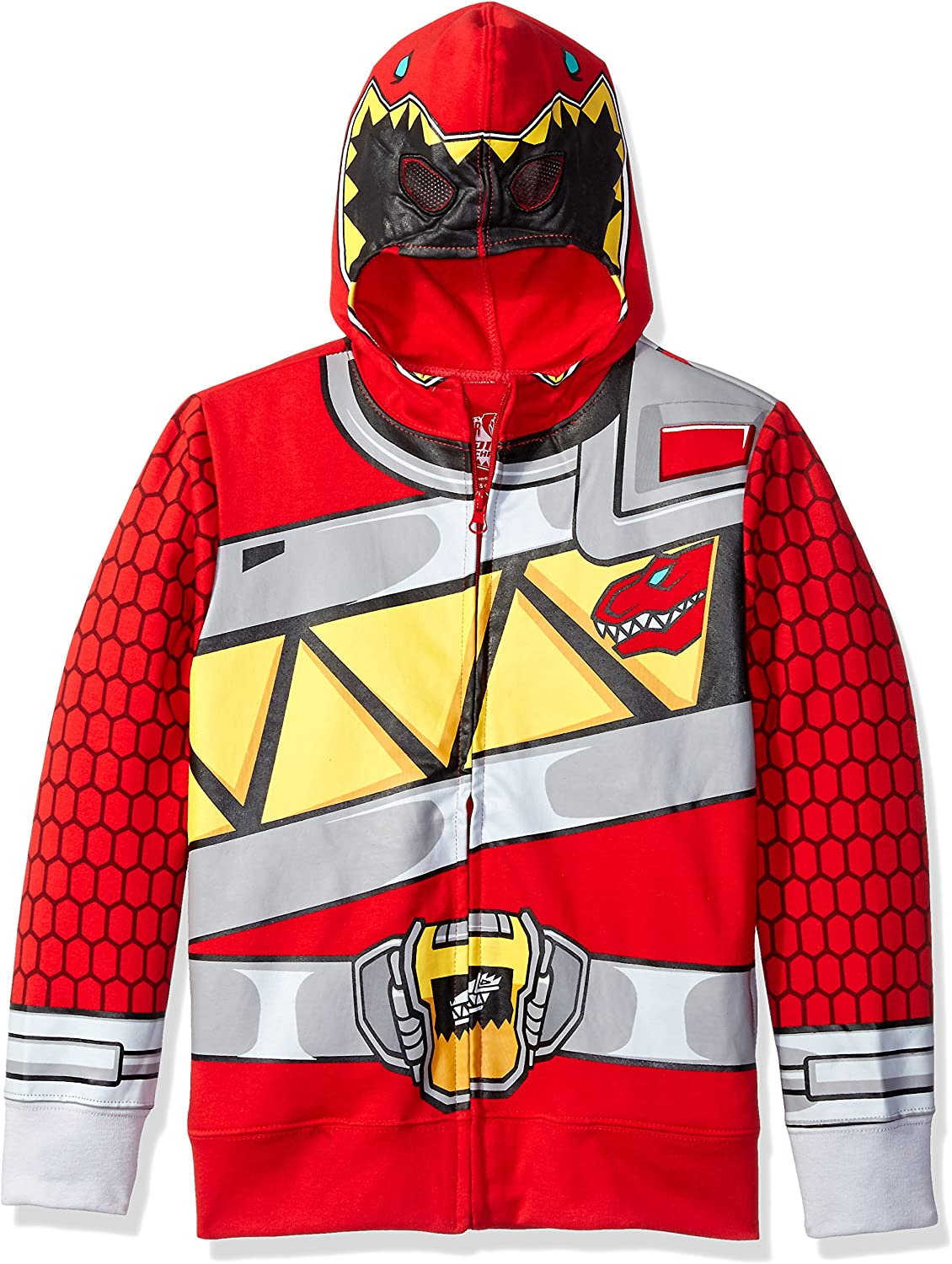 Power Rangers Boys' Character Hoodie: Clothing