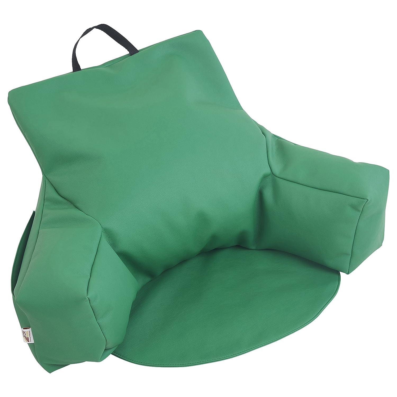 Amazon.com: Sofá puff con soporte para espalda ...
