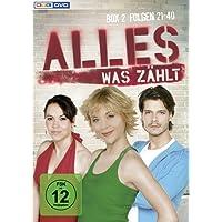 Alles was zählt - Box 2, Folgen 21-40 (3 DVDs)