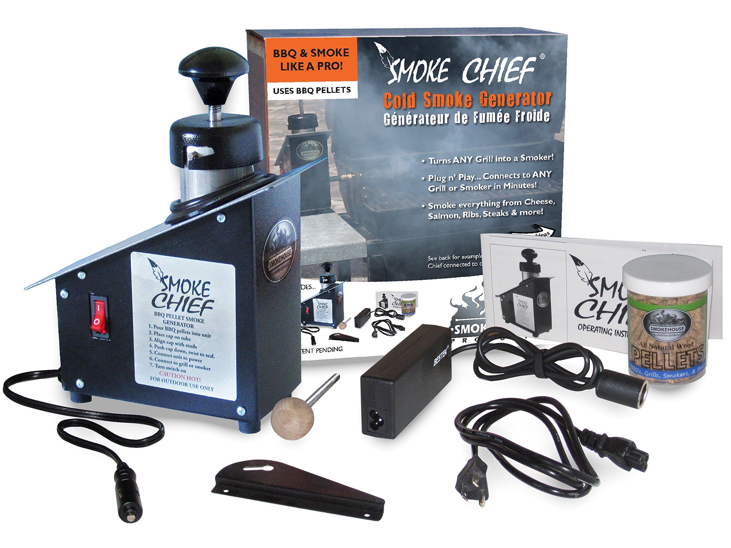 Smokehouse Products 9500-000-0000 Smoke Chief Cold Smoke Generator by SmokeHouse (Image #1)