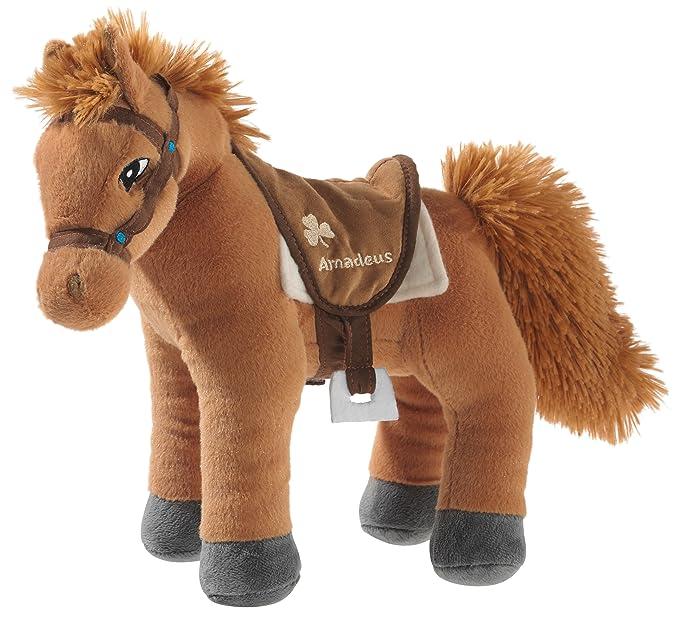 Bibi & Tina 637771 - Pferd, Amadeus Stehend, braun: Amazon.de: Spielzeug