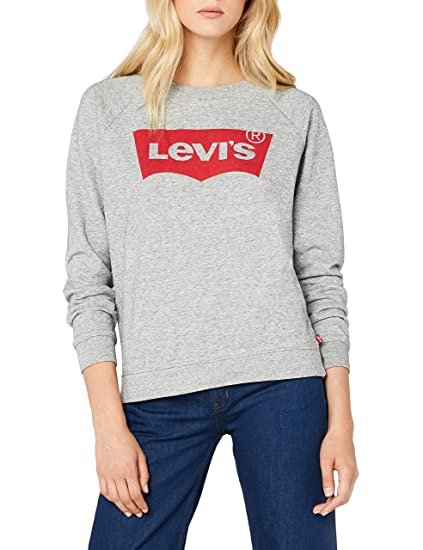 Levi's Sweat Femme Crew Graphic Relaxed nO8XPwk0