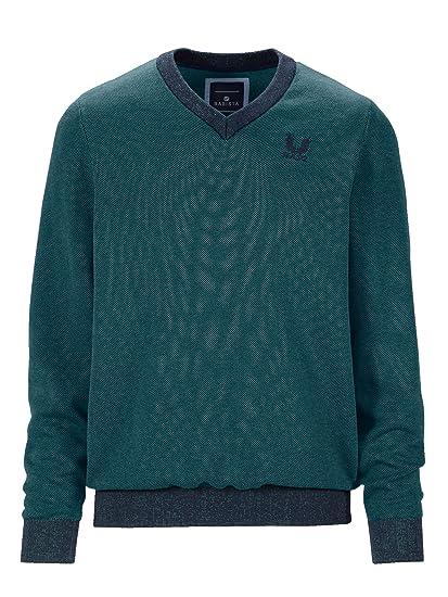 BABISTA Herren Pullover Baumwolle in zweifarbiger Optik