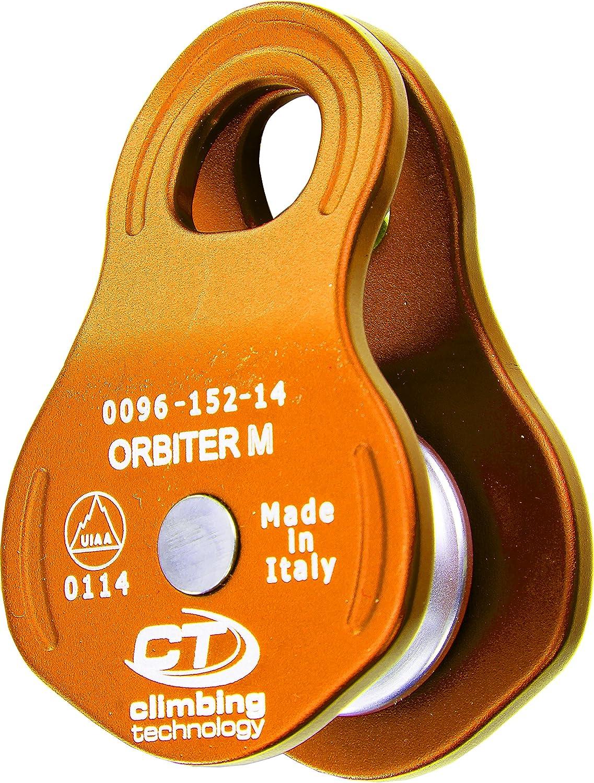 Climbing Technology Orbiter M Polea Unisex - Adulto, Langosta, Talla única