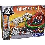 Clementoni 19064 T-Rex Ausgrabungsset + Vulkanausbruch, Mehrfarbig
