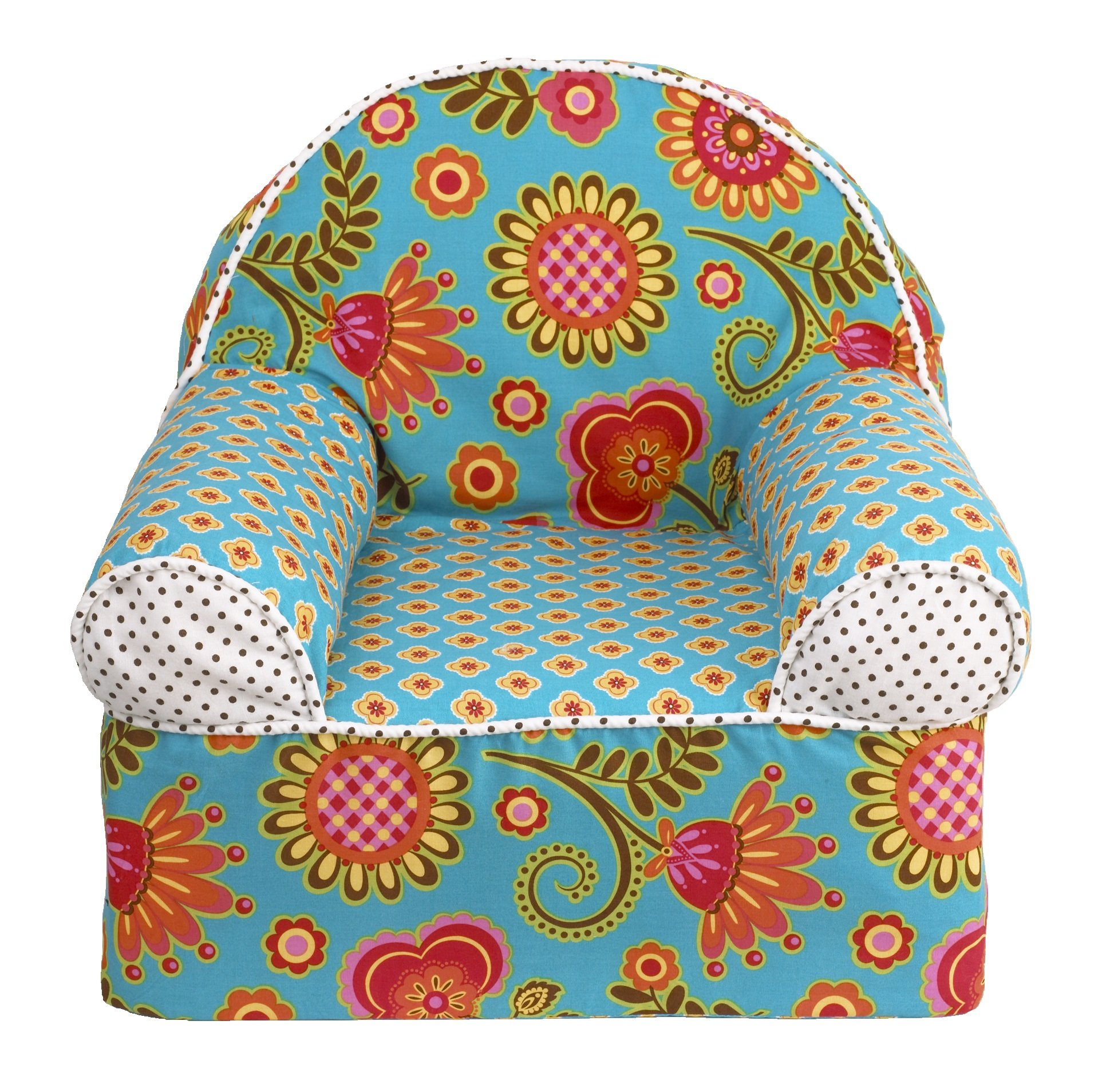 Cotton Tale Designs Gypsy Chair, Turquoise/Red/Orange/Yellow by Cotton Tale Designs