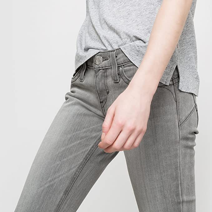 Levi's Revel Low Demi Curve Grey Light Jeans Skinny Hellgrau