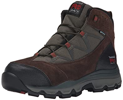 3dbc28f3b02ef Timberland PRO Men's Rockscape Mid Steel-Toe Industrial Waterproof Hiking  Boot