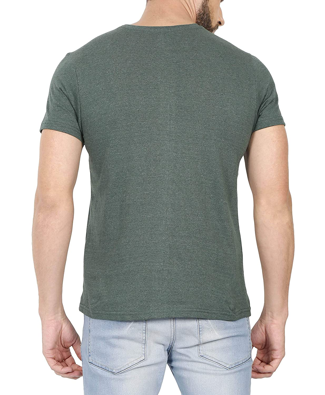 62a02fa0a Urba Classics Men's Cotton Green Plain Round Neck T Shirt(UC1086):  Amazon.in: Clothing & Accessories