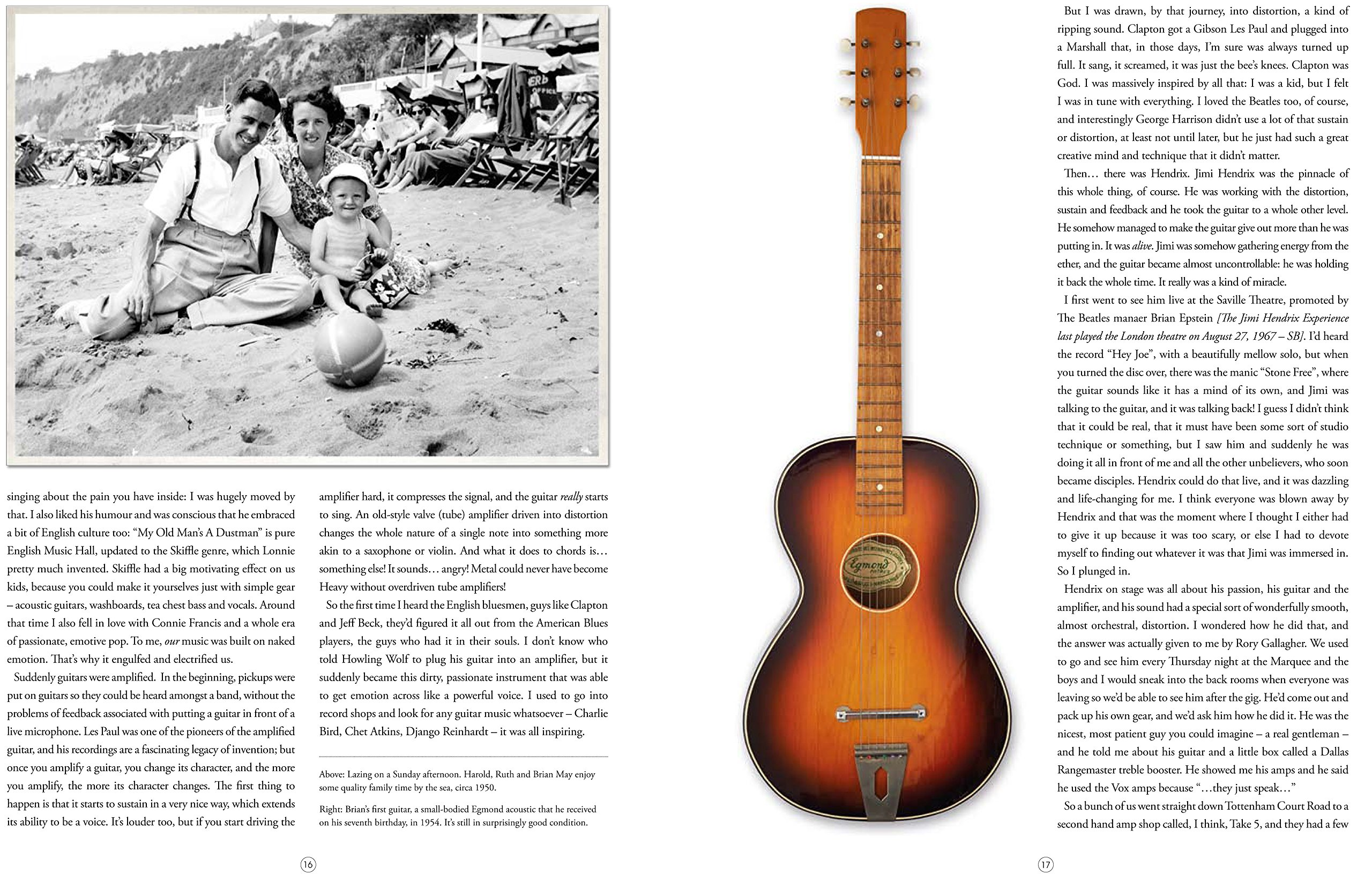 Brian Mays Red Special: The Story of the Home-made Guitar that ...