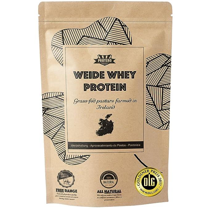 14 opinioni per 350 g Whey Protein (naturale) da latte di mucche irlandesi al pascolo 100%