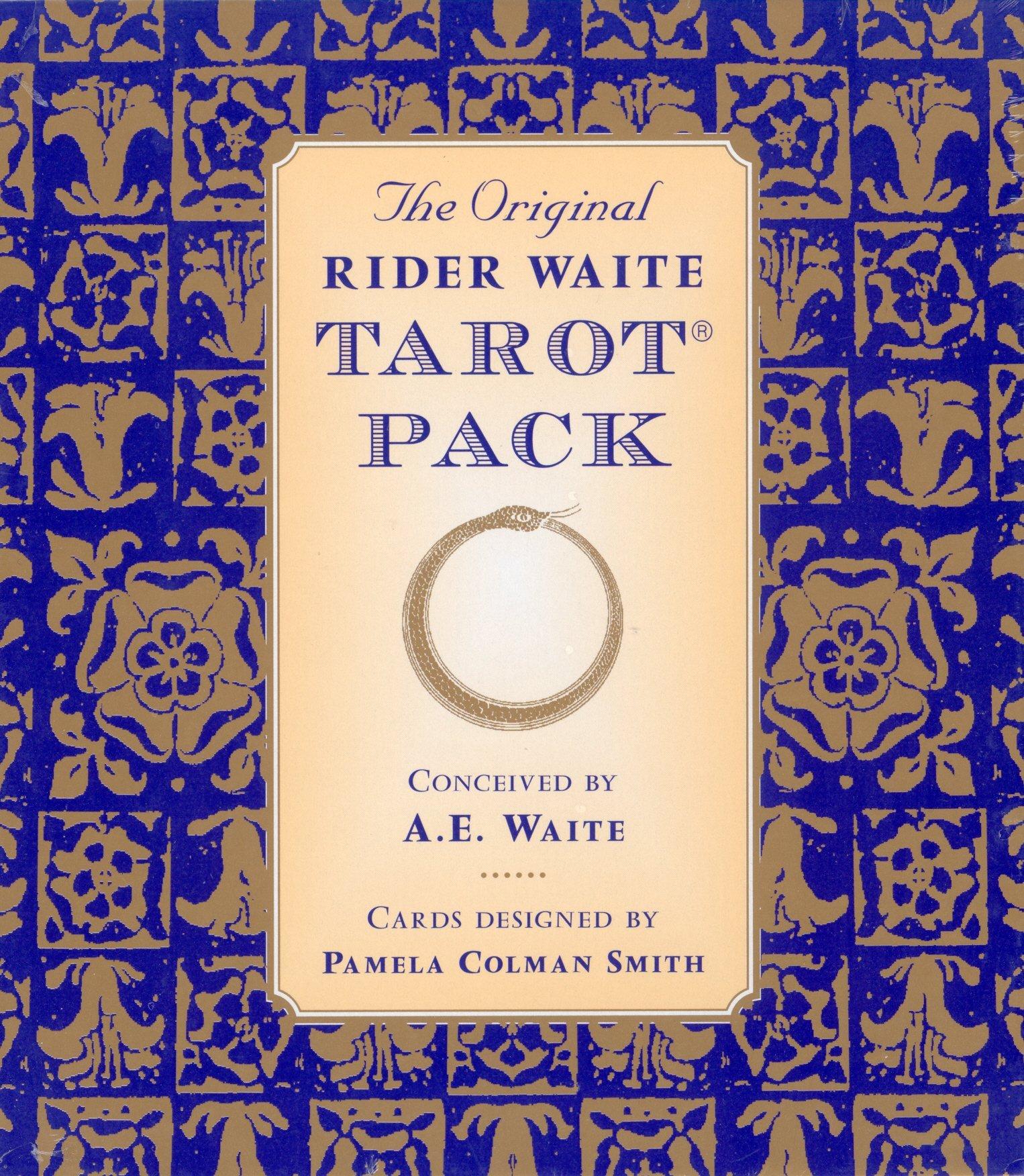 The Original Rider Waite Tarot Pack: Amazon.es: Waite, A.E., Colman Smith, Pamela: Libros en idiomas extranjeros