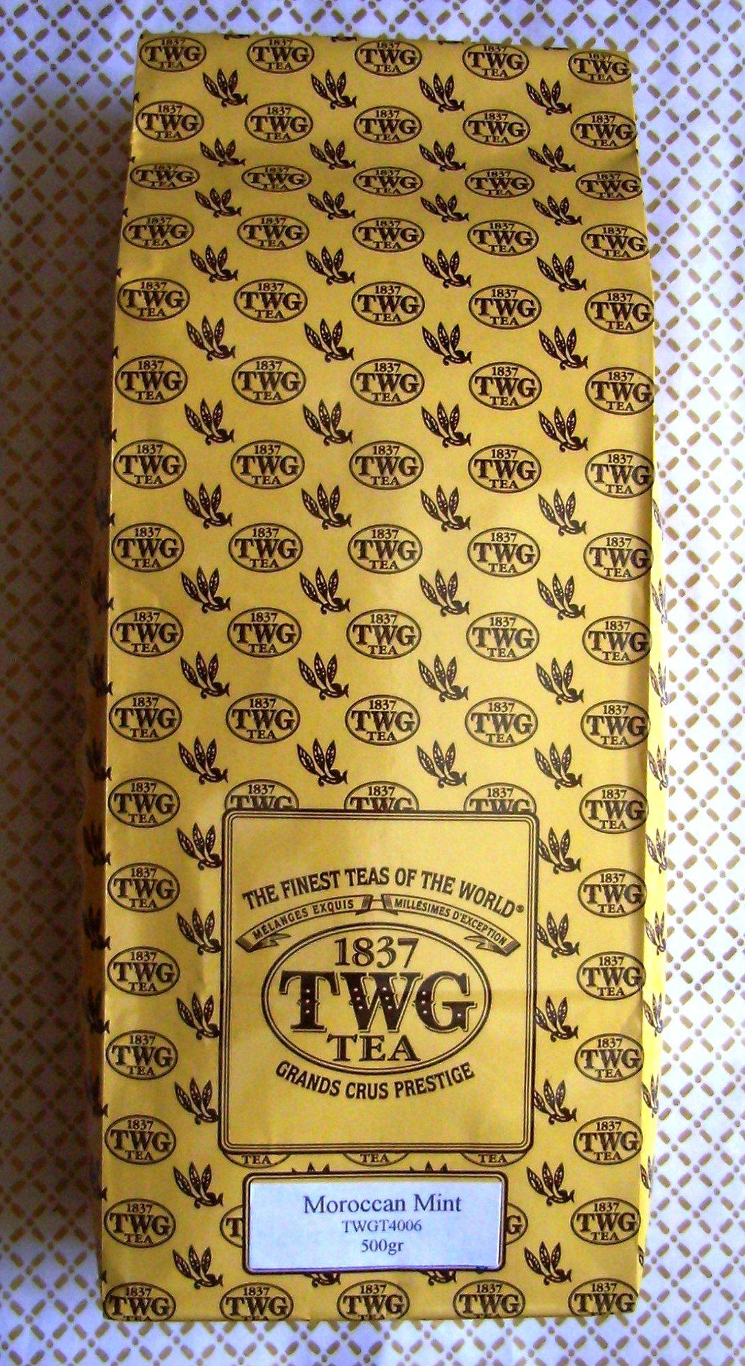 TWG Tea - Moroccan Mint Tea (TWGT4006) - 17.63oz / 500gr Loose Leaf BULK BAG by Unknown (Image #1)