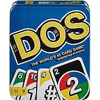 Mattel Games Dos Tin Card Game, Multicolor