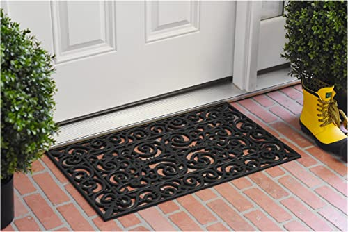 Calloway Mills 103631830 Gauntlet Rubber Doormat, 18 x 30