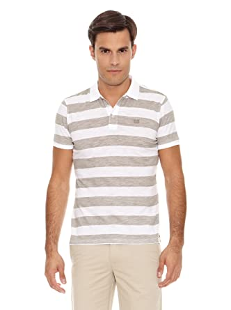 Bendorff Polo Paul Beige/Blanco S: Amazon.es: Ropa y accesorios