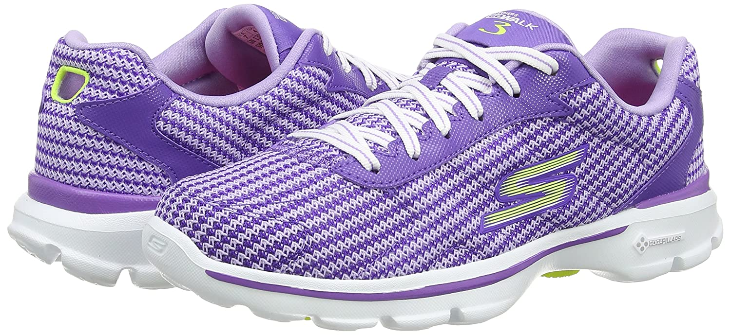 Skechers Andare Camminare Pizzo 3 Fitknit Up - Womens MltXt7D