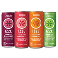 Deals on 24-Pack Izze Sparkling Juice 4 Flavor Variety Pack 8.4 oz