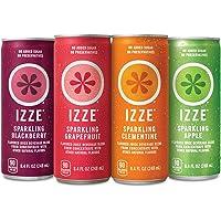 24-Pack Izze Sparkling Juice 8.4 oz 4 Flavor Variety Pack