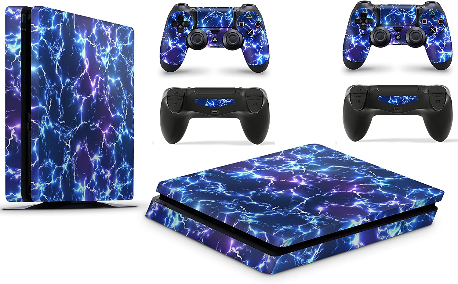 Amazon Com Gizmoz N Gadgetz Ps4 Slim Console Electric Storm From