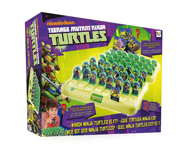 IMC Toys - Tortugas Ninja adivina personaje, juego de mesa (230248) [Importado de Inglaterra]