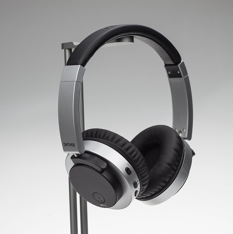 Denver BTN-206BLACK Binaural Diadema Negro Auricular con micrófono: Denver-Electronics: Amazon.es: Electrónica