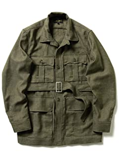 Beams Plus Military Tropical Jacket 11-18-4452-139: Olive