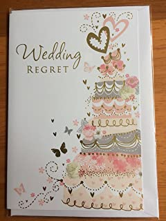 Me to you wedding day regret square greetings card tatty teddy simon elvin cake small wedding regret card m4hsunfo