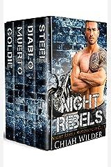 Night Rebels Motorcycle Club Series (Books 1 - 4): Night Rebels MC Romance Box Set Kindle Edition