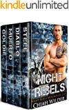 Night Rebels Motorcycle Club Series (Books 1 - 4): Night Rebels MC Romance Box Set