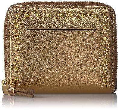 56f6e7c49ee Amazon.com: Cole Haan Marli Glitter Stud Small Zip Wallet: Shoes