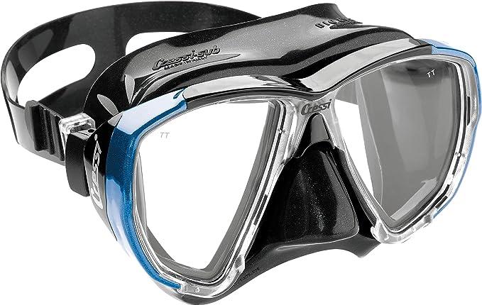Cressi Big Eyes Gafas de Buceo, Unisex, Negro/Azul: Amazon.es