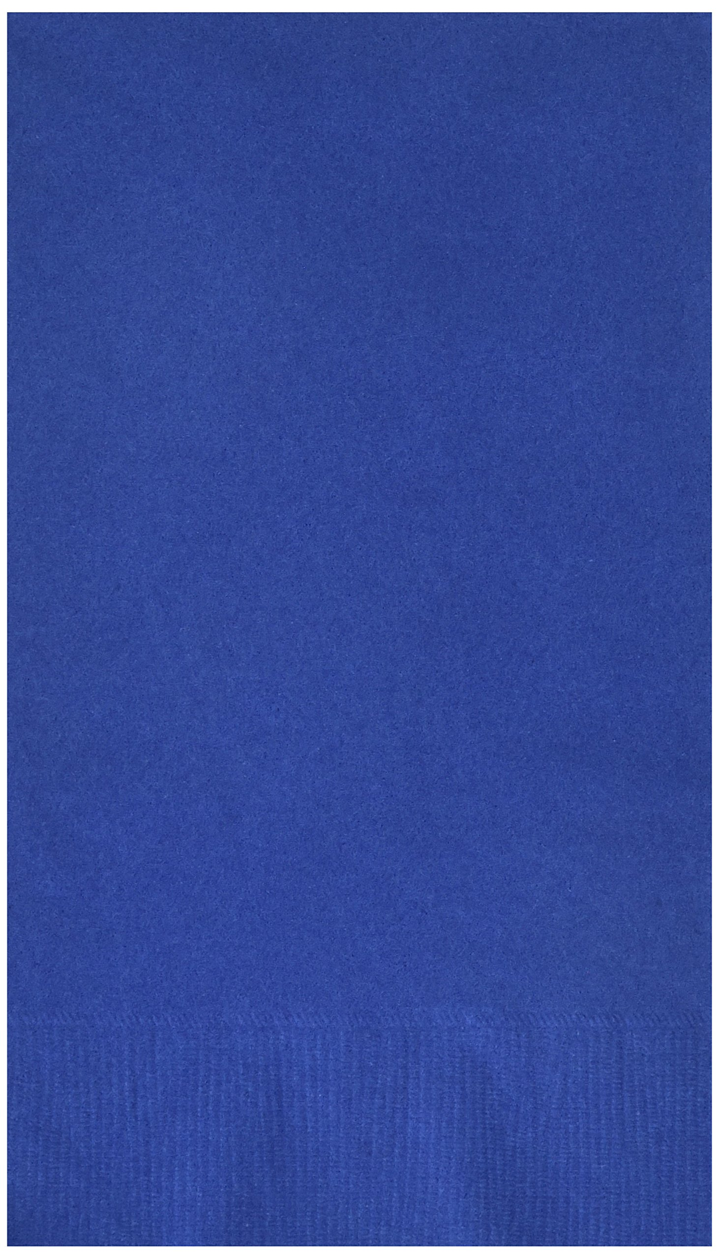 Bright Royal Blue 2-Ply Guest Towels   Party Supply   192 ct.
