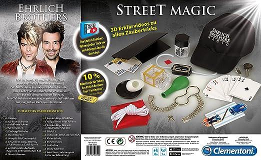Zauberartikel & -tricks Clementoni Ehrlich Brothers Street Magic Zauberkasten