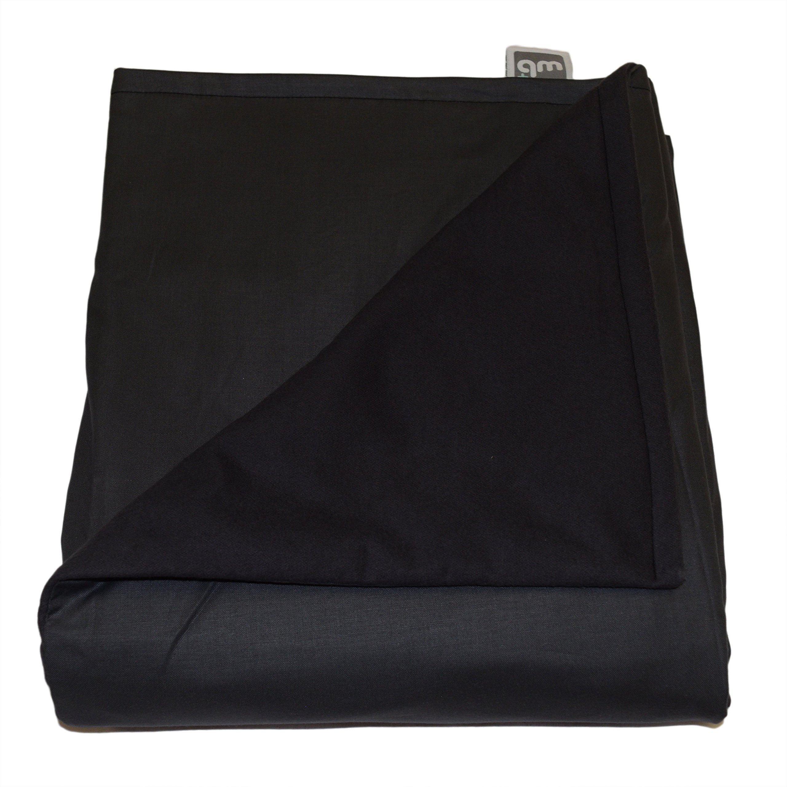 WEIGHTED BLANKETS PLUS LLC - MADE IN AMERICA - CHILD DELUXE SMALL WEIGHTED BLANKET - SMOKE - COTTON/FLANNEL (52'' L x 40'' W) 5lb MEDIUM PRESSURE.