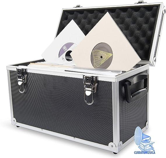 Maleta Aluminio para guardar 100 Singles 7