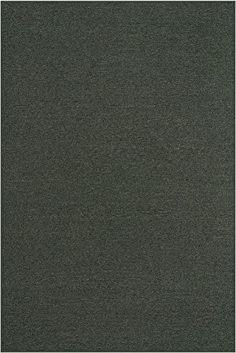 Ambiant Saturn Collection Pet Friendly Indoor Outdoor Area Rug Teal – 2 x3 Non Slip Backing