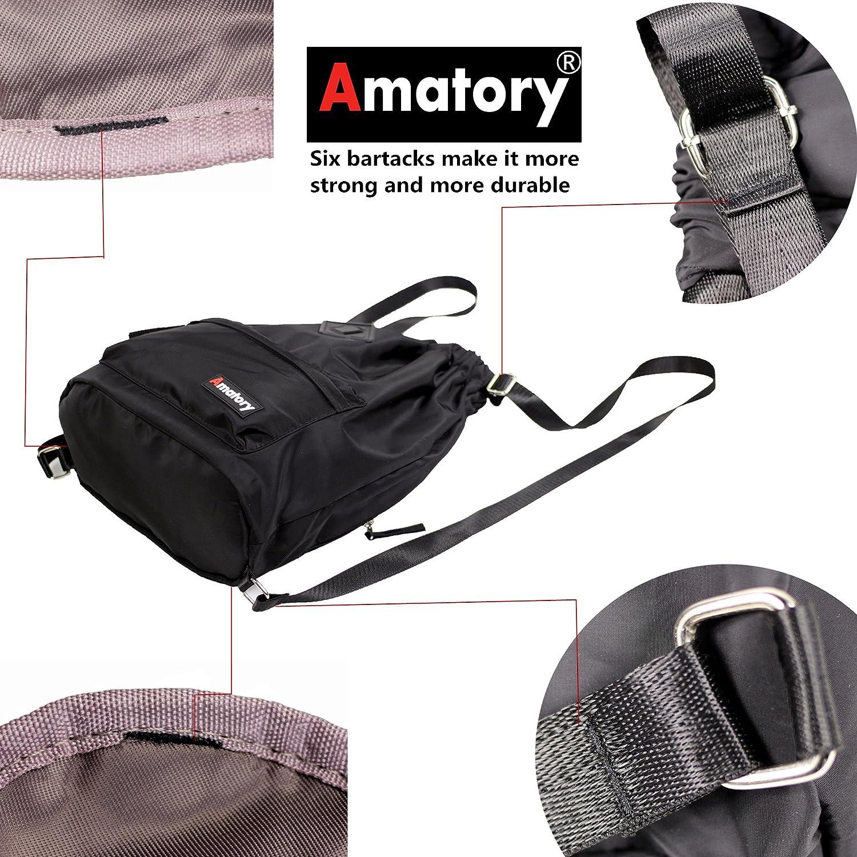 41a7d8579462 Drawstring Backpack String Bag Sports Waterproof Sackpack Gymsack Gym Cinch  Sack A-1908-Black