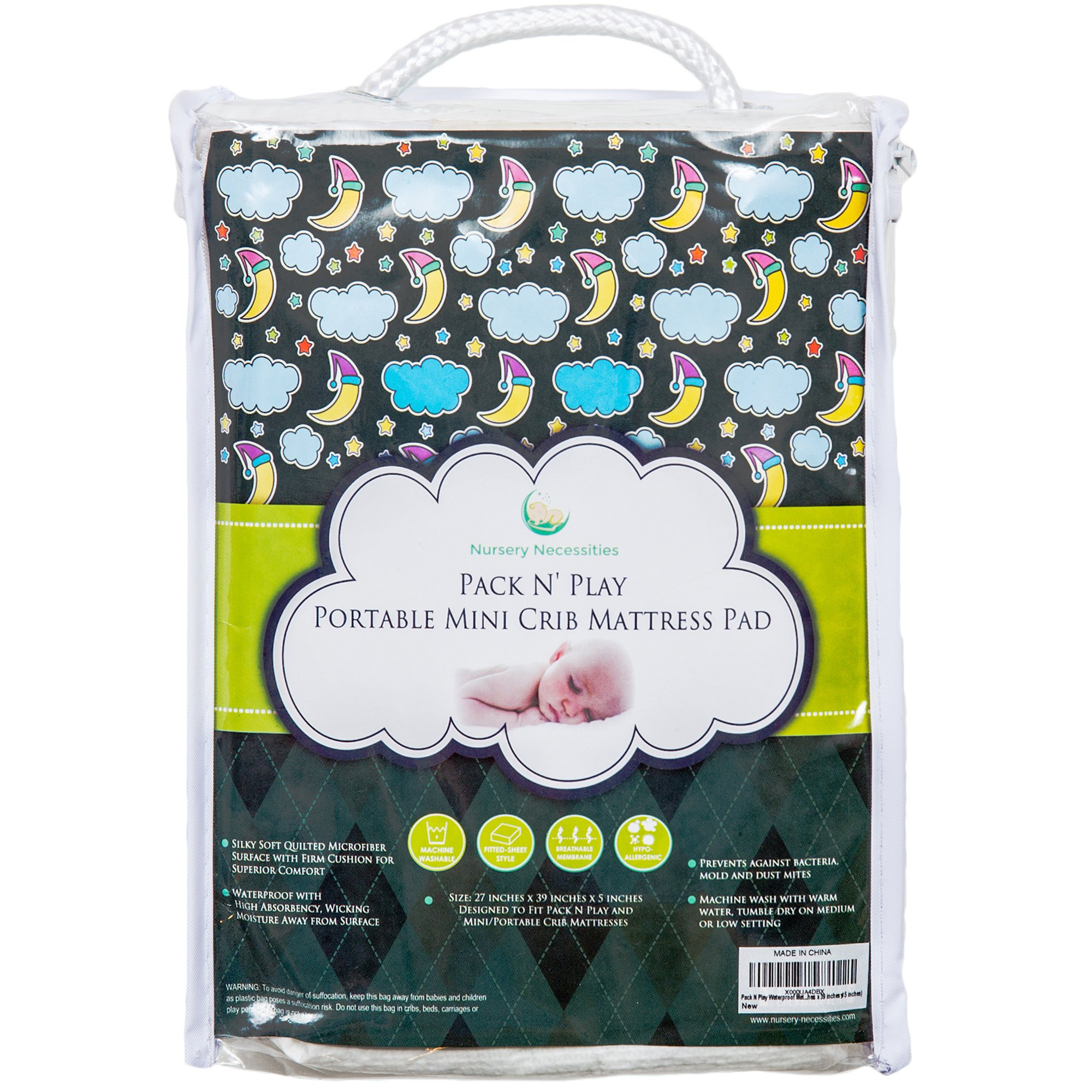 Amazon Com 100 Organic Bamboo Pack N Play Sheet Silky