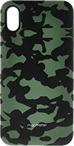 Macmerise IPCIXMTMI1352 Camo Effect Green - Tough Case for iPhone XS Max - Multicolor (Pack of1)