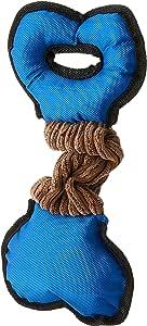 HOUZE Pet Toy Tug Bone, Blue