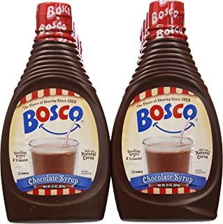 product image for Bosco Syrup, Chocolate, 22 Ounce (Pack of 12)