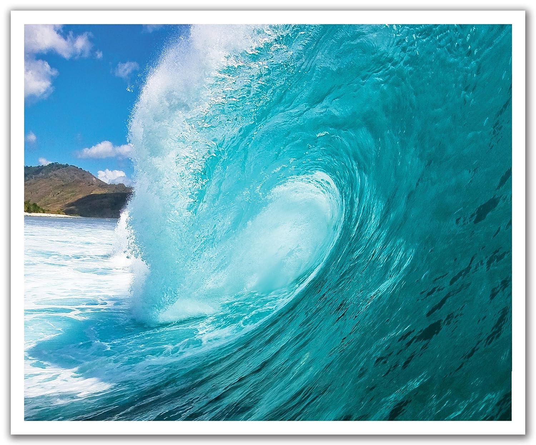 24-Inch x 19.75-Inch JP London POSLT2093 uStrip Lite Removable Wall Decal Sticker Mural Hang Ten Ocean Surf